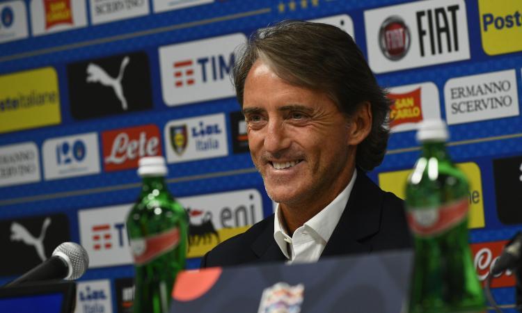 Mancini: 'Zaniolo può esordire. Belotti e Balotelli? Ecco perché non li chiamo'