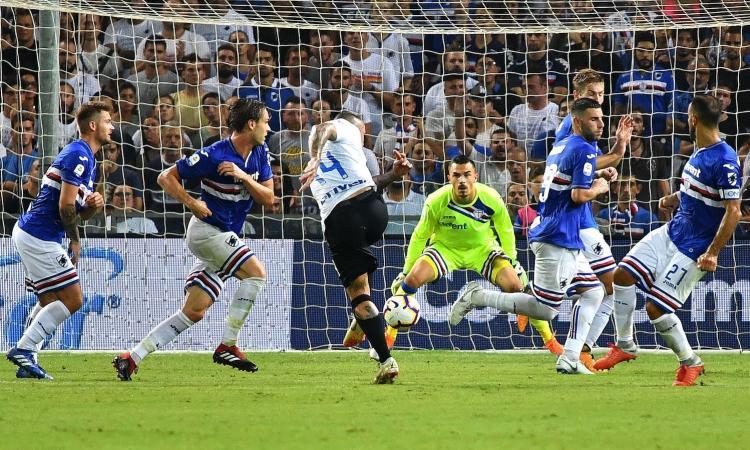 Moviola Serie A: il Var toglie due gol all'Inter, annullata una rete a Defrel