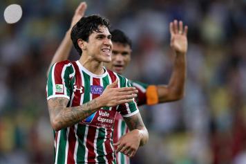 Pedro Guilherme Fluminense esulta