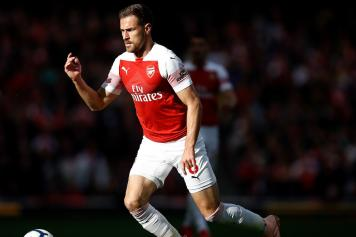 Ramsey Arsenal concentrato