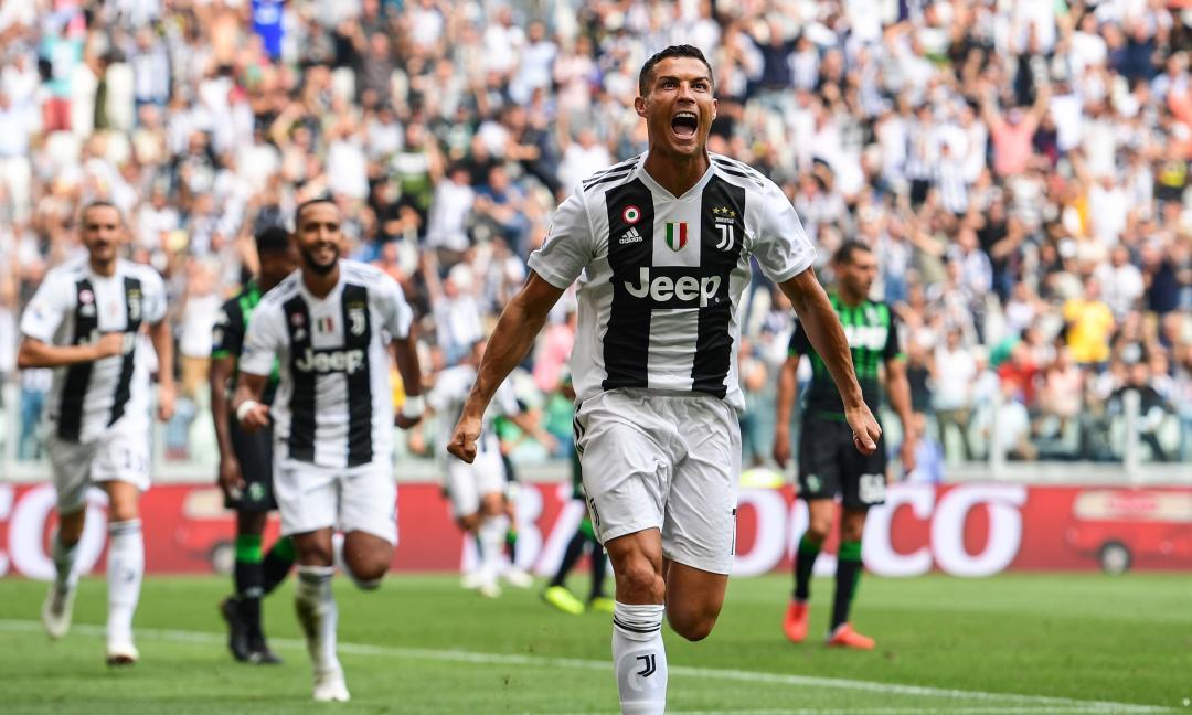 Ronaldo si sblocca: la Juve st'anno vince in carrozza