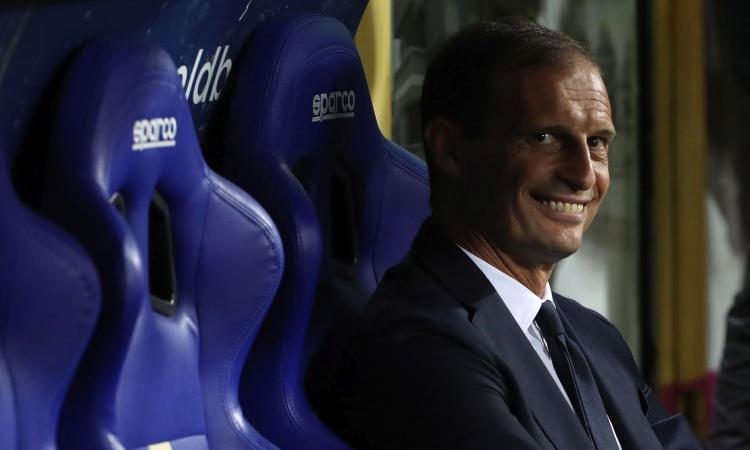 Juve, Allegri: 'Bravo Ronaldo, ma i rigori non li guardo. Champions? Conta la forma, non l'avversario'