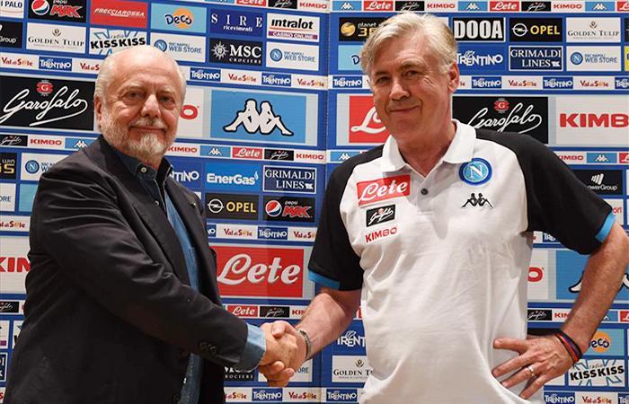 Napoli, rapporti tesi tra De Laurentiis e Ancelotti. E spuntano delle voci sul Milan...