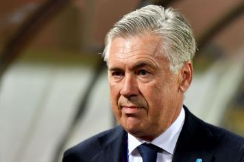 ancelotti, napoli, sguardo, champions, 2018/19