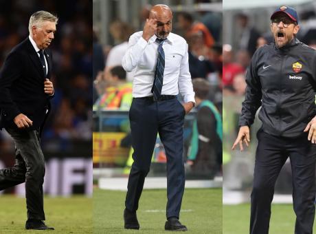 Ce l'ho con... Ancelotti, Spalletti e Di Francesco flop: l'anti-Juve non c'é