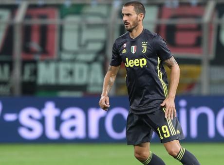 Juve, Bonucci: 'Gattuso fa giocare bene il Milan, dovremo approfittare dei loro errori'