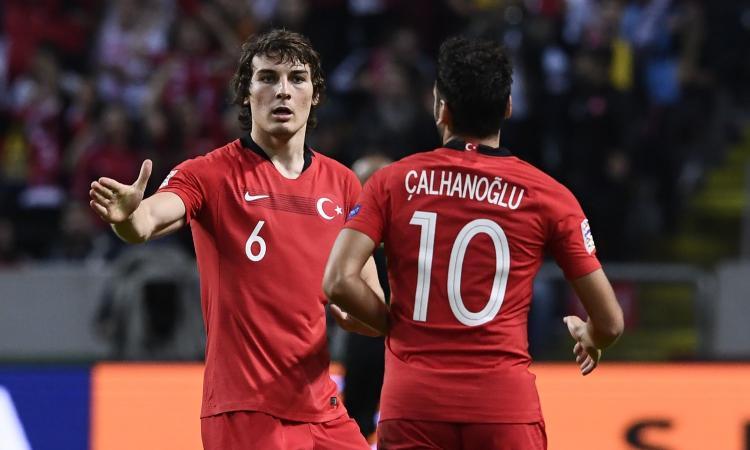 Turchia-Lettonia, le formazioni ufficiali: dal 1' Muldur e Calhanoglu