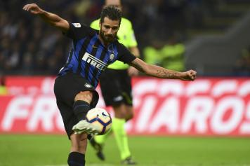 candreva, inter, calcia, volo, 2018/19