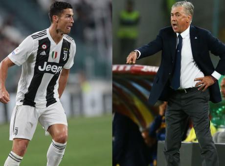 E ora Juve-Napoli da scudetto: per Ancelotti vale tutto, per Ronaldo no