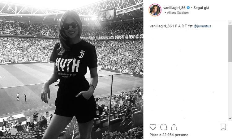 Cristina Chiabotto, cuore Juve: 'Vincere non annoia mai, con CR7 la Champions'