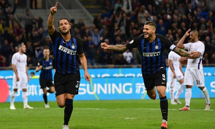 La Fiorentina merita: l'Inter vince con D'Ambrosio, ma manca un rigore