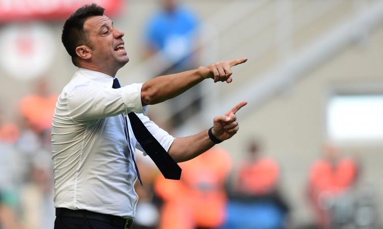 Parma, D'Aversa: 'Vittoria meritata, sentivo di poter fare risultato. Contento per Dimarco, Gervinho fa la differenza'