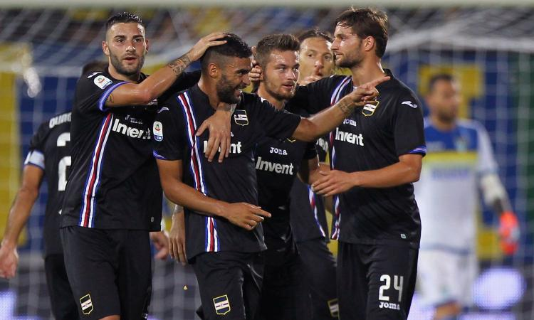 Disastro Frosinone: 5-0 Sampdoria