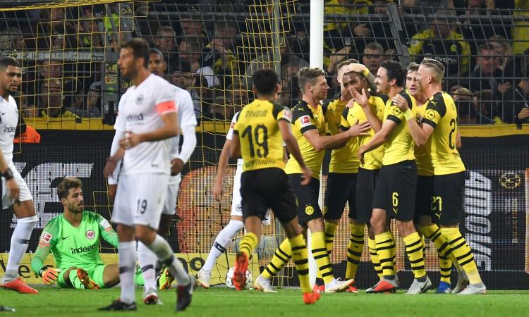 Bundesliga: tris Dortmund all'Eintracht VIDEO