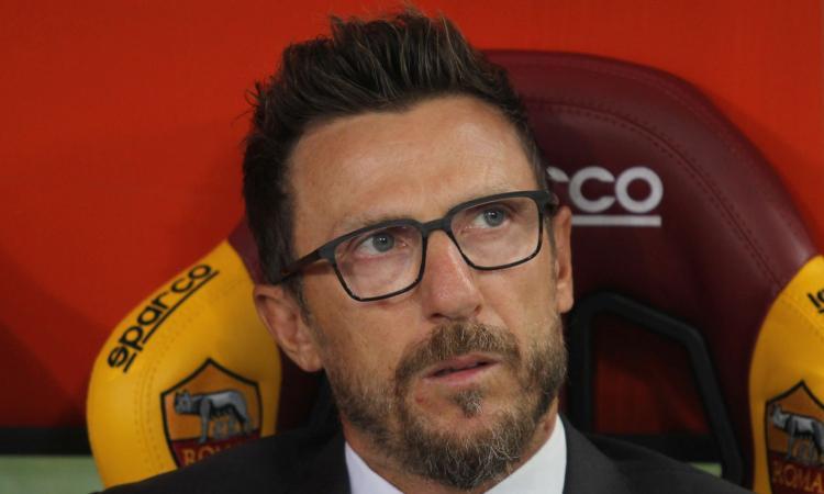 Di Francesco: 'Chi non si allena bene con me non gioca più. Su Manolas...'