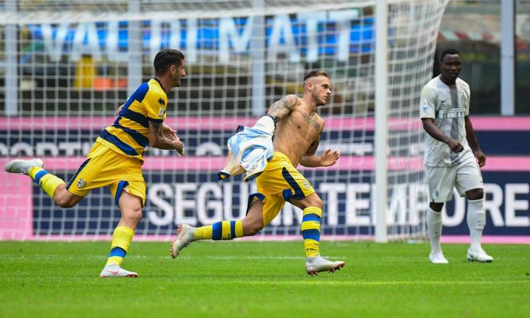 Colpo Parma, l'ex Dimarco gela l'Inter
