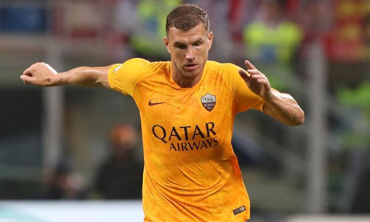 Roma, il West Ham tenta Dzeko