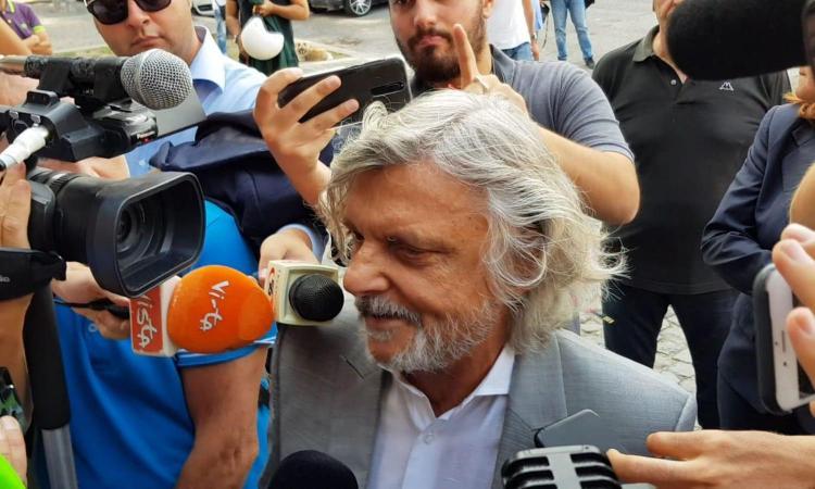 Cagliari-Sampdoria, Ferrero: 'Ci avevo creduto, è mancato San Culino' VIDEO