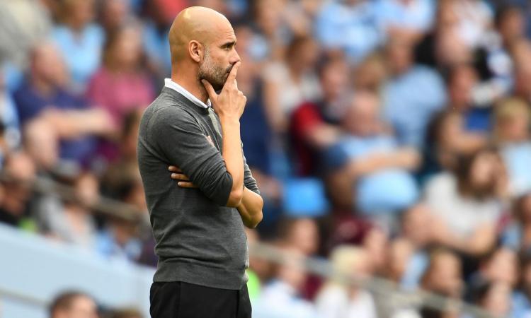 Man City, Guardiola: 'Rigore Mahrez? In allenamento non sbaglia mai'