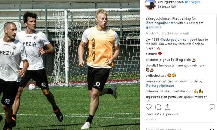 Dinastia Gudjohnsen senza fine: Sveinn Aron fa il suo debutto in Serie B