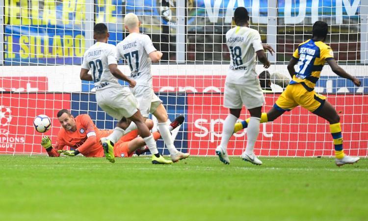 Inter, Handanovic: 'Il gol di Dimarco era da annullare. Manca un rigore, con noi hanno fatto finta di nulla' VIDEO