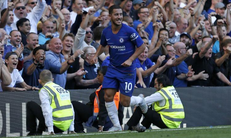 Hazard ammicca al Real Madrid: 'Sarebbe bello. Mourinho? Vorrei tornare a lavorare con lui...'