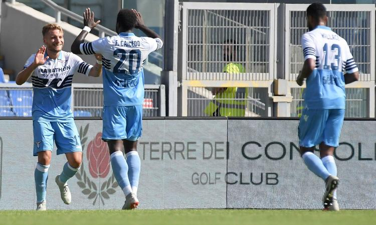 Lazio, le pagelle di CM: Caicedo ed Immobile 'on fire', poker servito