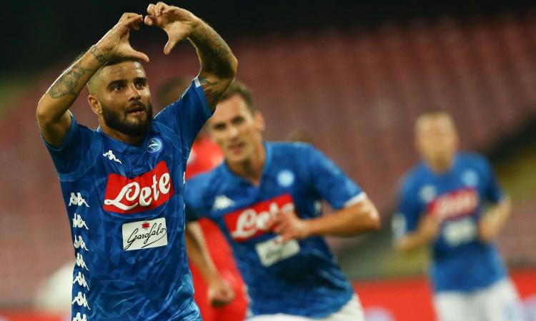 Napoli, basta una magia di Insigne: 1-0, primo ko per la Fiorentina