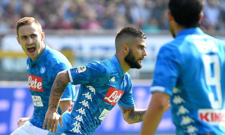 Napoli, Insigne: 'Ancelotti mi ha messo più vicino alla porta, sono più leggero. Su Allan nell'Italia...'