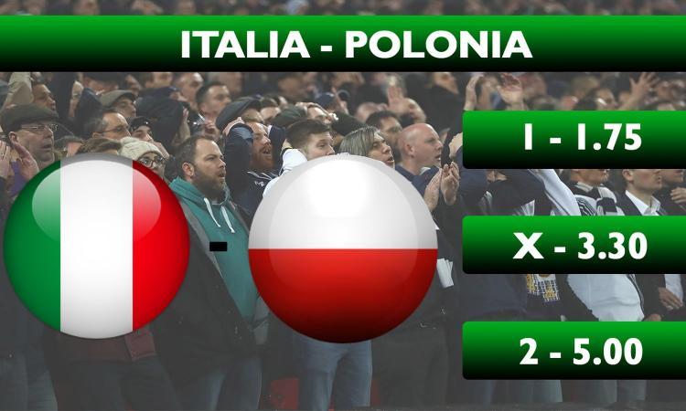 Schedina CM: Italia-Polonia 1 fisso. Alla Spagna il big match con l'Inghilterra