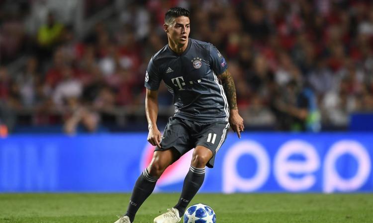 Bayern Monaco: James parla del suo futuro