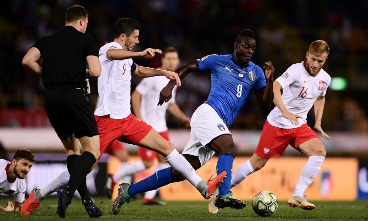 Italia-Polonia 1-1: il tabellino
