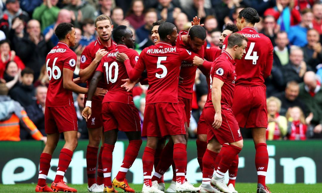 Liverpool, è record stagionale e continua a far sognare