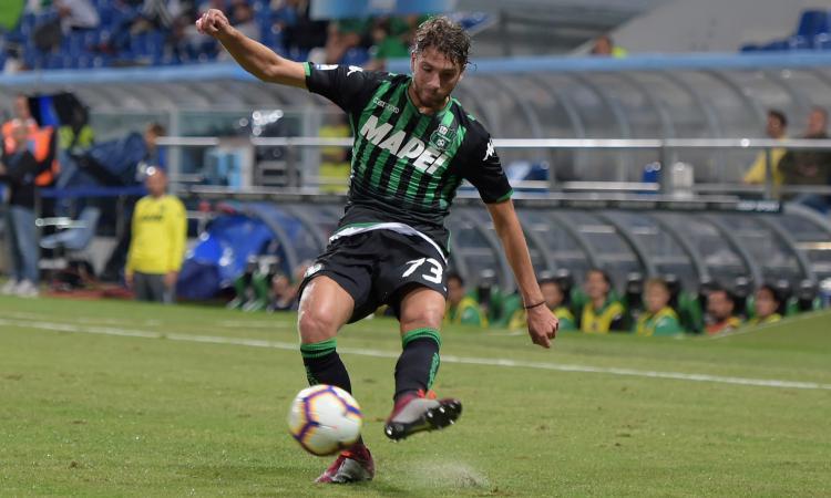 Juve-Sassuolo tra campo e mercato: Ronaldo cerca il gol, Locatelli in vetrina