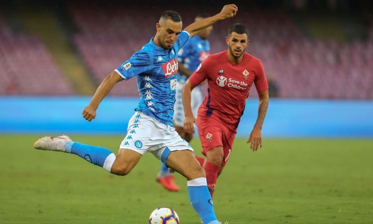 Napoli-Fiorentina 1-0: il tabellino