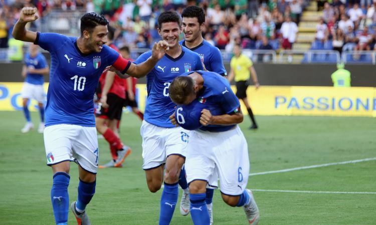 Under 21: Italia-Albania 3-1, nel recupero decidono Murgia e Parigini