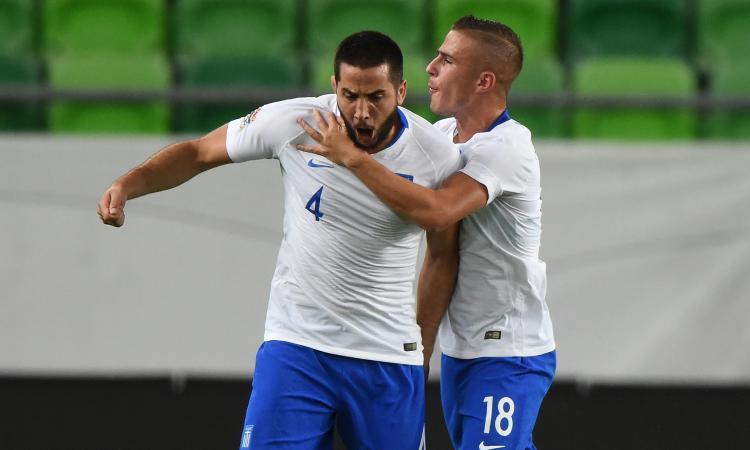 Roma, gol e infortunio per Manolas