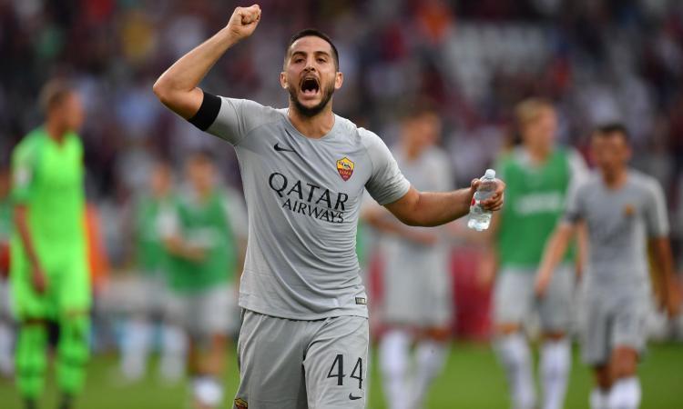 Roma, dalla Spagna: 'Manolas andrà allo United'