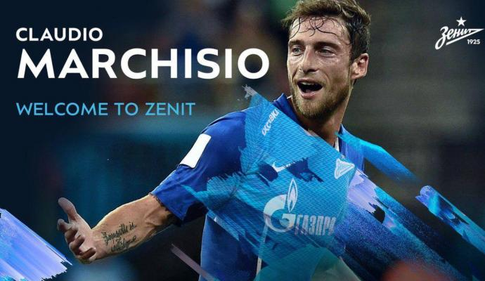 reputable site 1861d a064a Here is Marchisio with his new Zenit jersey | English News ...