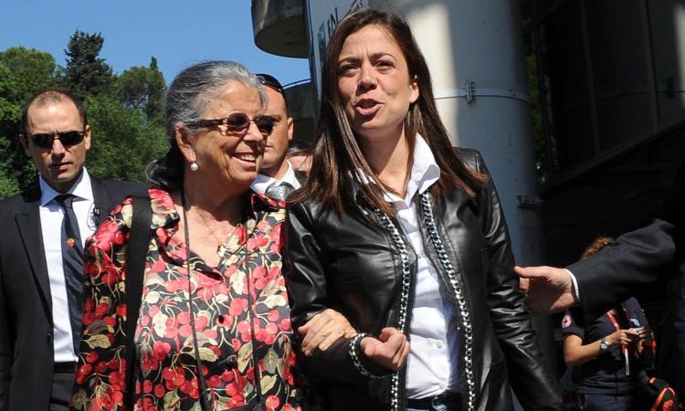 Roma-Chievo: minuto di silenzio per Maria Sensi