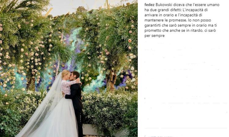 Matrimoni Bassano Romano : Fedez e la ferragni matrimonio da milioni altro che totti