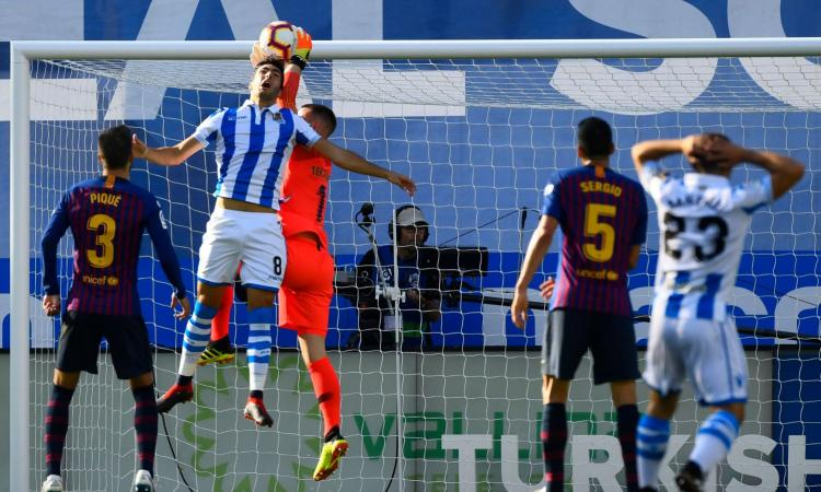 Liga: la Real Sociedad prima in classifica frenata dal Leganes ultimo