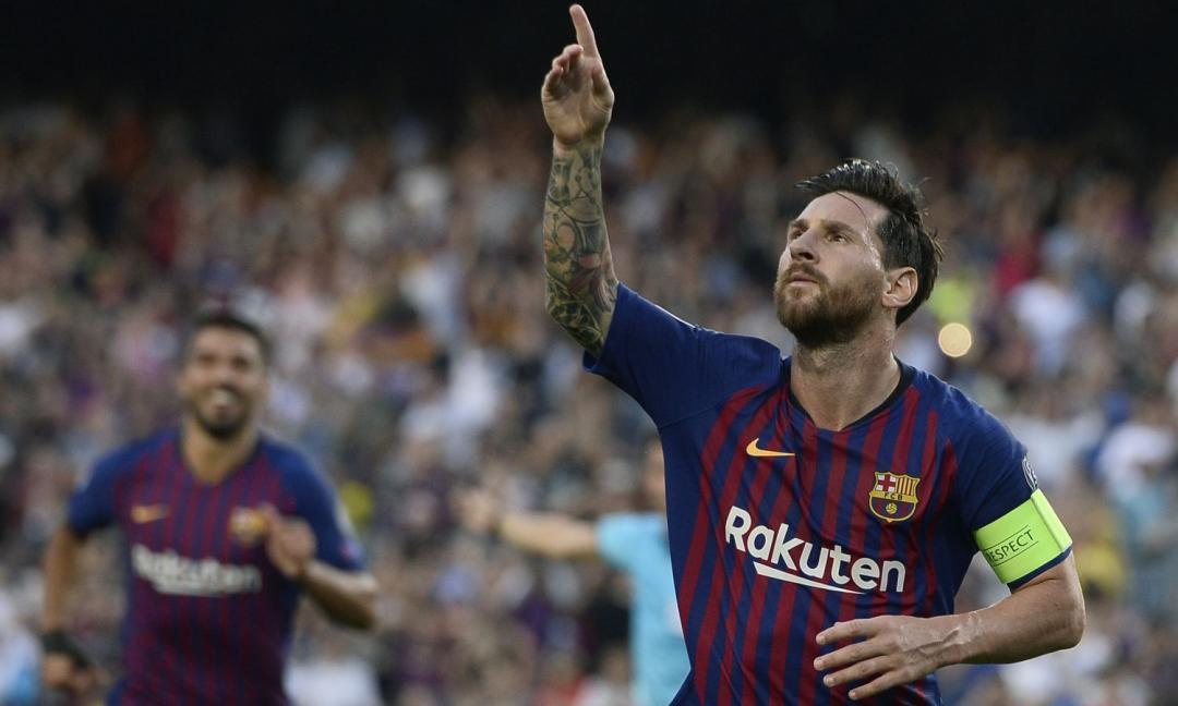 …e fu subito Leo Messi (ma che fatica farsi notare)