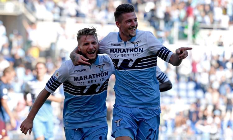 Lazio-Genoa 4-1: il tabellino