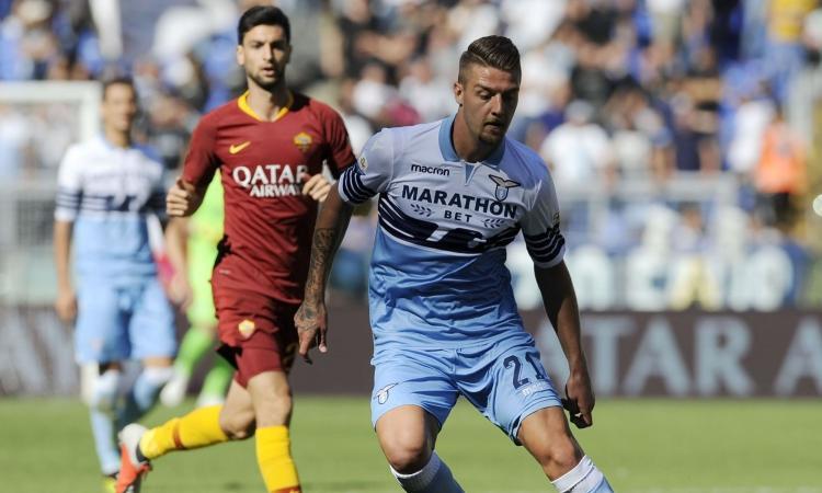Milinkovic: 'Felice per la visita di Mourinho'. Juve e Milan non mollano