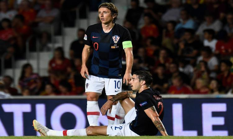 Vrsaljko tranquillizza l'Inter: 'Sto bene'