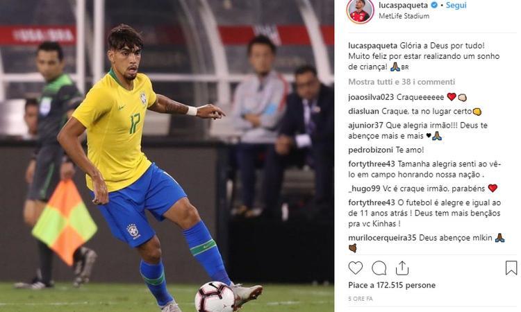 Milan, l'obiettivo Paquetà debutta col Brasile: Serginho continua a lavorare