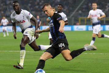 perisic, inter, calcia, tottenham, 2018/19