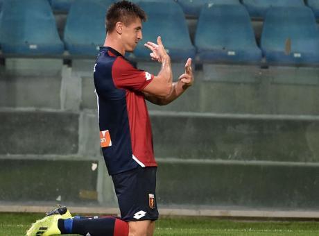 Dg. Genoa: 'Piatek? L'offerta del Milan deve ancora arrivare. Vedrò Leonardo'