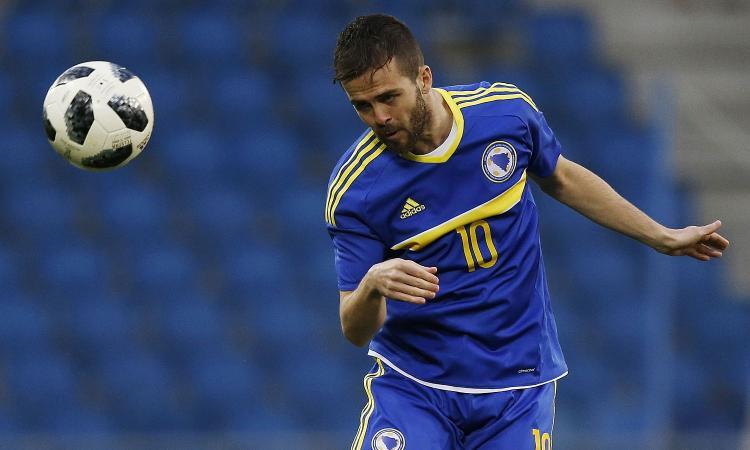 Qual. Euro2020: Pjanic trascina la Bosnia e il figlio di Frick frena l'Armenia, pari Spagna in Norvegia